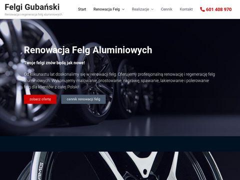 Felgigubanski.pl renowacja felg