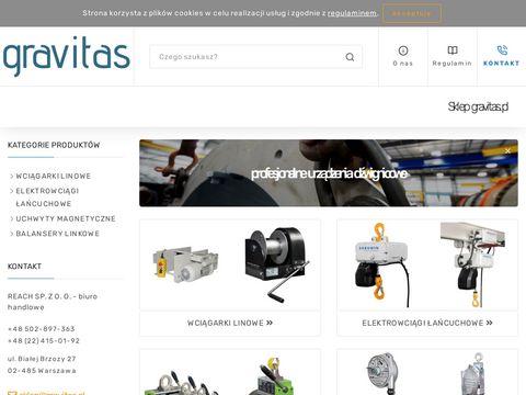 Gravitas.pl wciągniki łańcuchowe