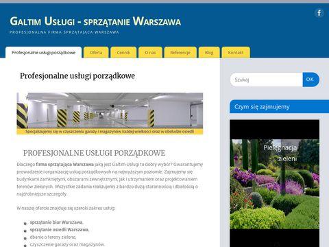 Galtim.com.pl - sprzątanie Warszawa