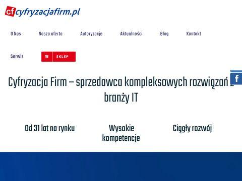 Cyfryzacjafirm.pl serwery Starogard