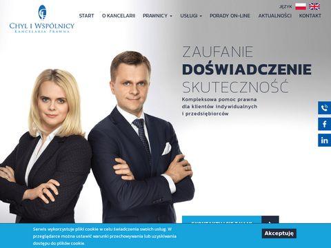 Chyl.pl - adwokat Warszawa