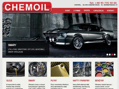 Chemoil - oleje, smary, płyny