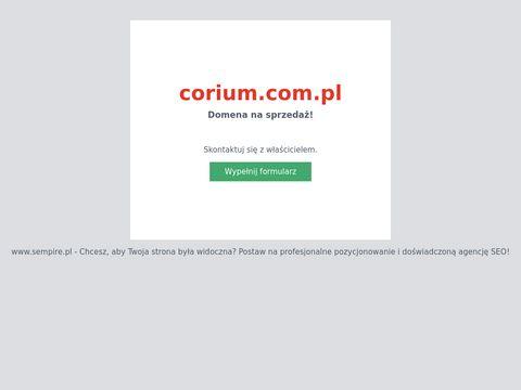 Corium elegancki portfel