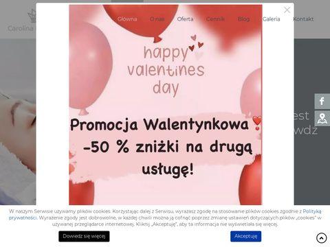 Carolinabeautyclinic.pl depilacja