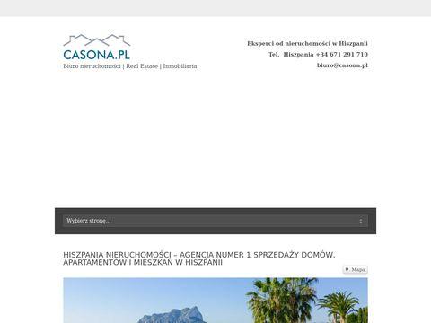 Hiszpania nieruchomości Casona