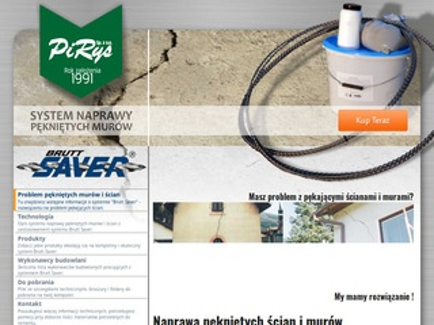 Brutt-saver.pirys.pl zszywanie pęknięć