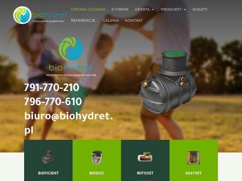 Biohydret.pl oczyszczalnia