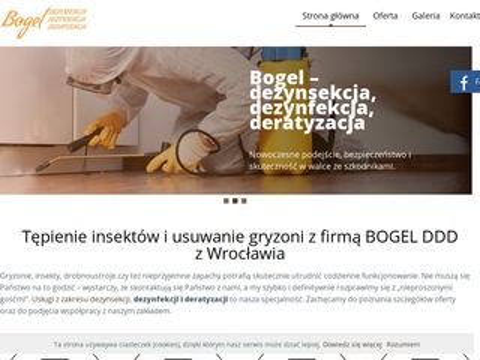 Bogel tępienie pluskiew Wrocław