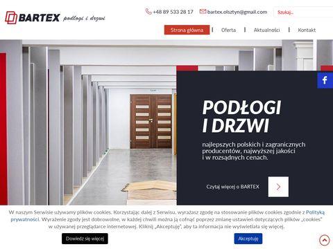 Bartex podłogi i drzwi