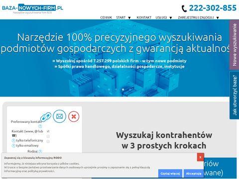 Biznesowe bazy danych b2b