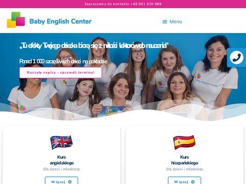 Baby English Center angielski Łódź