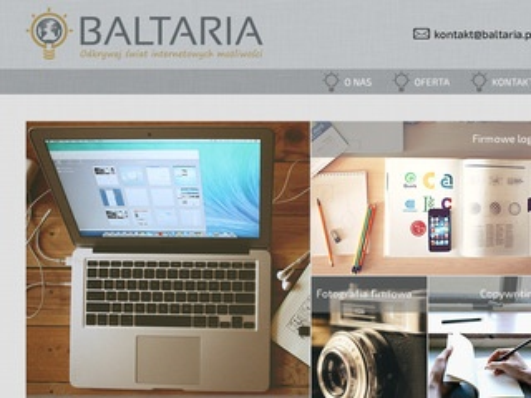 Baltaria - strony www