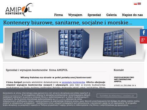 Amipol kontenery socjalne