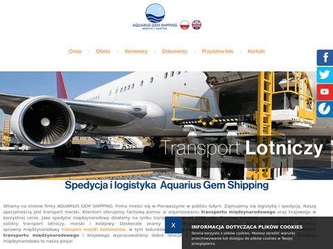 Aquarius Gem Shipping odprawa celna