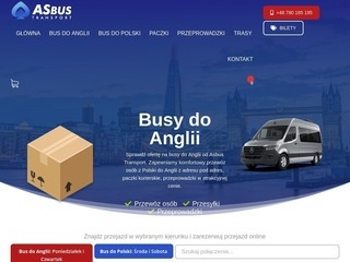 ASbus transport - busy do Anglii