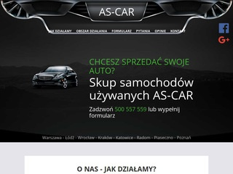 Auto-handel As-Car skup aut Wrocław