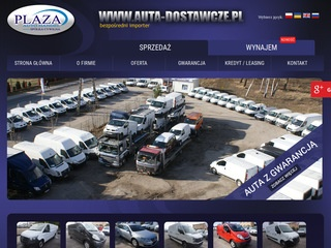 Plaza wynajem aut Szczecin