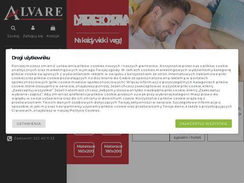 Materace kieszeniowe Alvare