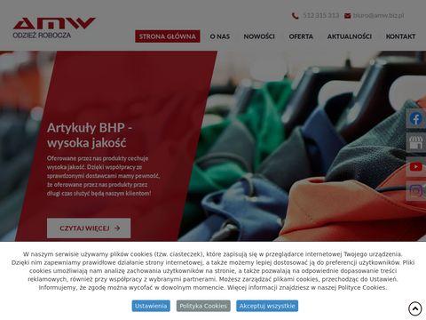 Amw.biz.pl odzież robocza