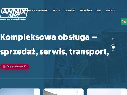 Anmix.pl podnośniki koszowe
