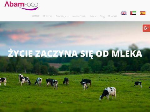 Abamfood.pl producent mleka