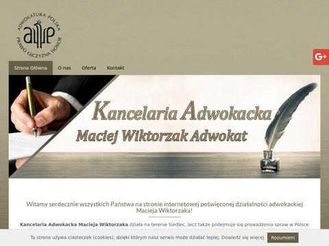 Maciej Wiktorzak opinie prawne