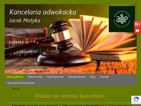 Jacek Motyka kancelaria adwokacka