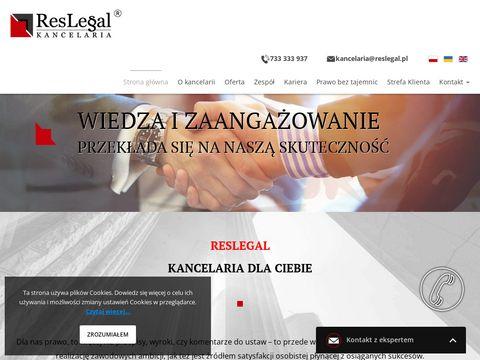 Kancelaria Rzeszów adwokat Reslegal