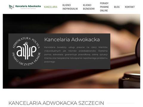 Adwokat-karkosza.pl kancelaria Szczecin