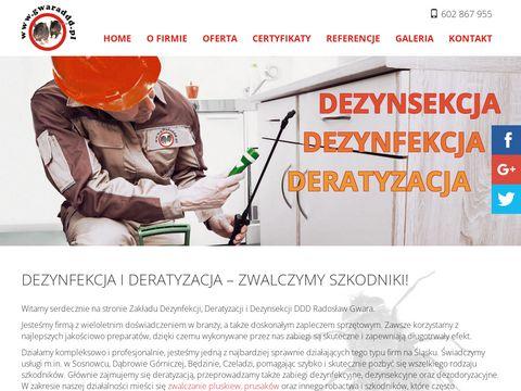 DDD Gwara deratyzacja Śląsk