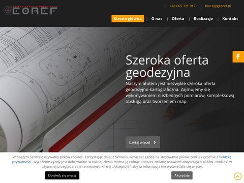 Georef zakład usług geodezyjnych