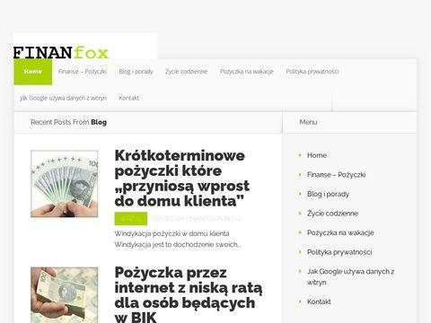 Twój portal finansowy finanfox.pl