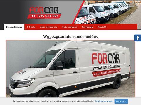 Forcar wypożyczalnia samochodów