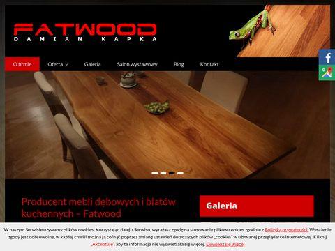 Fatwood blaty dębowe Katowice