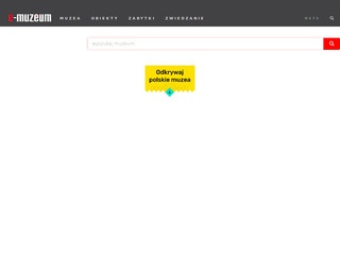 E-Muzeum digitalizacja muzealiów