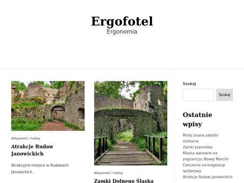 Fotele biurowe Ergofotel.pl
