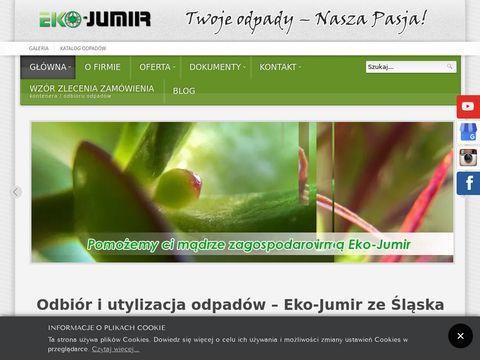Ekojumir.pl utylizacja odpadów