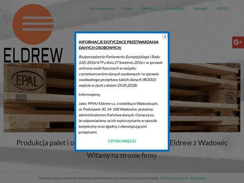 Eldrewpalety.pl produkcja