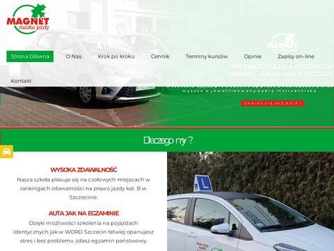 Magnet kurs prawa jazdy Szczecin