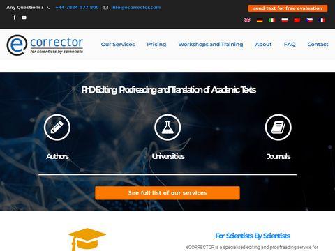 Ecorrector tłumaczenia
