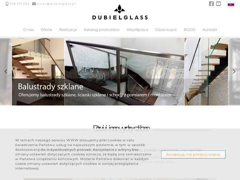Dubiel Glass balustrady szklane