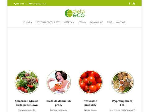 Dieta Eco catering dietetyczny