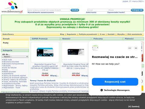 Dobretonery.pl toner zamiennik hp