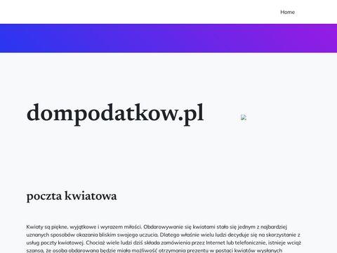 Dompodatkow.pl książka przychodów