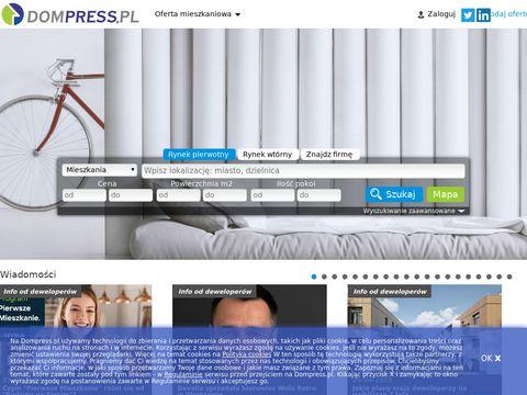 Dompress.pl deweloper Warszawa