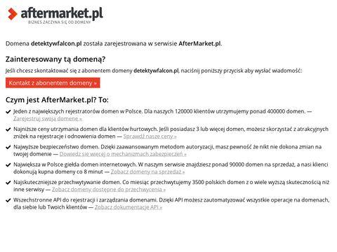 Detektywfalcon.pl agencja