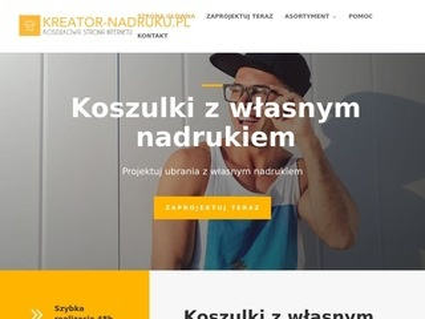 Kreator-nadruku.pl na odzieży