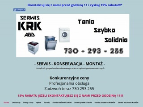 KRK Serwis agd Kraków