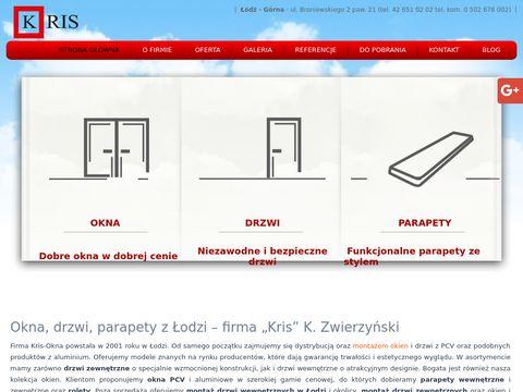 Kris-okna.pl serwis Łódź
