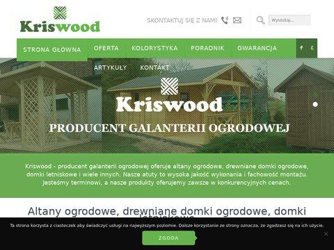 Kriswood.pl - galanteria ogrodowa